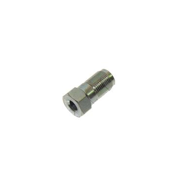 Гайка для стальной трубки д.6 м12х1 25мм
