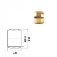 Муфта для медной трубки нзга 8мм ( 100 шт. В уп.)
