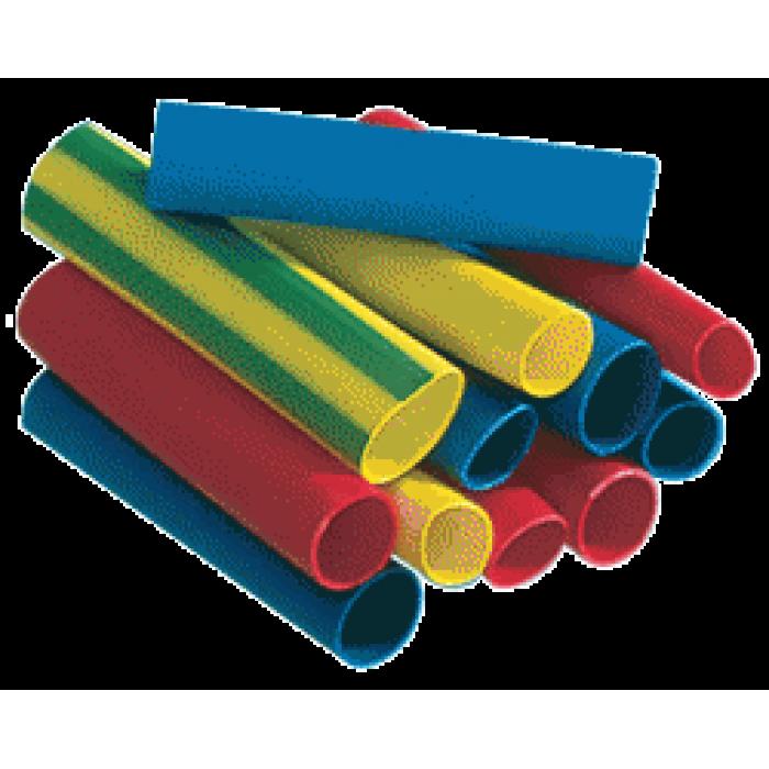 Набор трубок термоусадочных ф4мм/100мм(10)