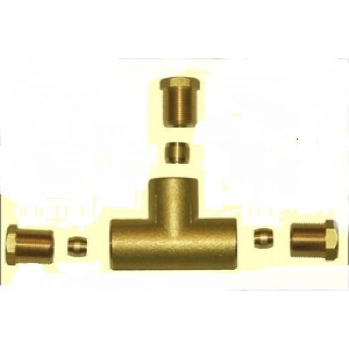 Тройник газа lovato 6 мм