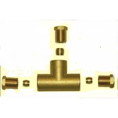 Тройник газа lovato 8 мм