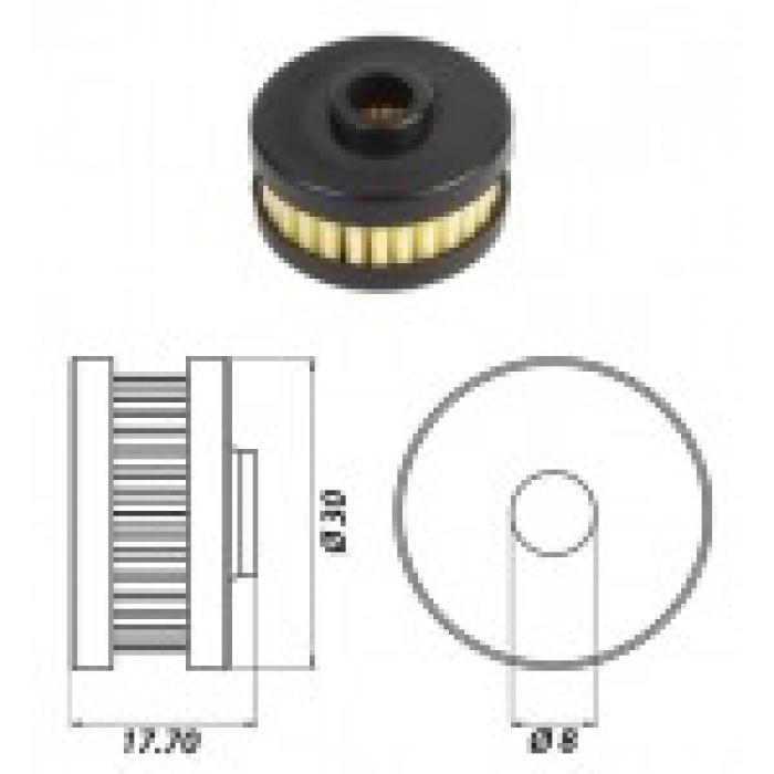 Фильтр газового клапана atiker