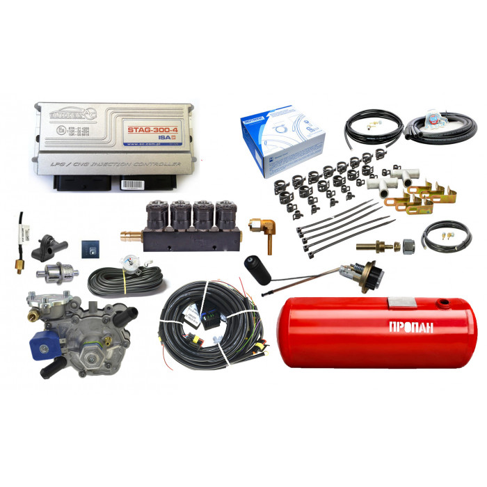 Комплект ГБО 4 на 6 цилиндров Diditronic 3D Power